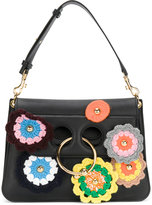 J.W.Anderson pierce bag - women - Chamois Leather/Wool - One Size