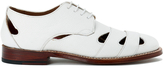 Grenson Women's Wilma Grain Leather Flats White