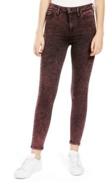 Celebrity Pink Juniors' Acid Wash Skinny Jeans