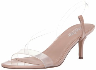 Charles by Charles David Women's Bermuda Heeled Sandal Clear 8 M US