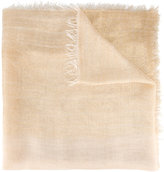 Faliero Sarti woven iridescent scarf - women - Silk/Polyester/Cupro/Modal - One Size
