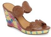 Jack Rogers Women's Livvy Wedge Slide Sandal