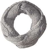 Polo Ralph Lauren Fringed Chunky Cable Neck Funnel Scarf
