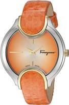 Salvatore Ferragamo Women's FIZ030015 Signature Analog Display Quartz Watch