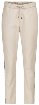 Brunello Cucinelli Stretch-cotton slim pants