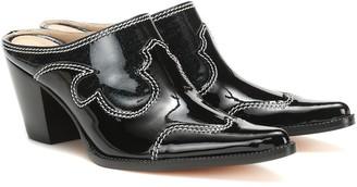 Maryam Nassir Zadeh Romeo patent leather mules