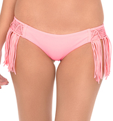Luli Fama Weave Fringed Moderate In Pink Sunsets (L47862F)