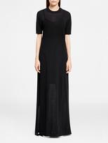 DKNY Pure Maxi Dress With Side Slits