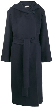 The Row Belted Hooded Coat