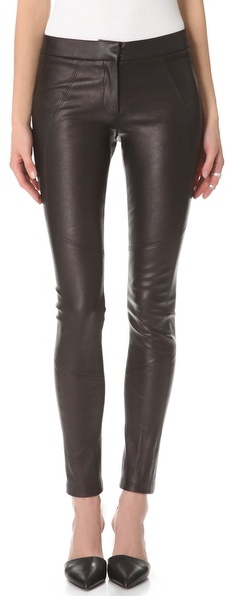 David Lerner Classic Leather Pants