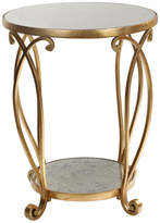 Uttermost Martella Round Gold Accent Table