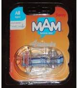 Mam Sassy Attitude Pacifier Keeper (Colors May Vary)