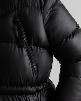 Hunter Women's Insulated Rubberised Long Puffer Coat