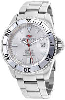 Seapro Scuba 200 Mens Silver-Tone Stainless Steel Watch