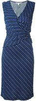 Diane von Furstenberg chiffon wrap dress