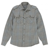 Gucci Grey Wool Shirt