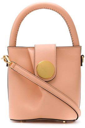 Elleme Mini Leather Bucket Bag