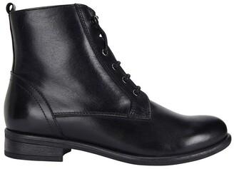 Sandler Badge Black Glove Boots