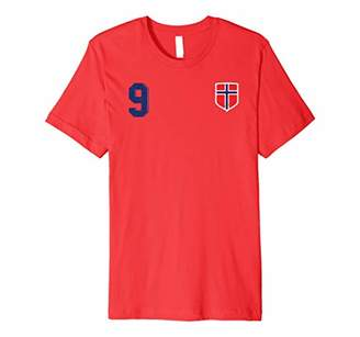 Retro Norway Football Jersey Norge Soccer T-Shirt 9