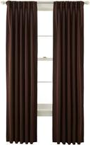 Liz Claiborne Kathryn Room-Darkening Pinch-Pleat/Back-Tab Curtain Panel