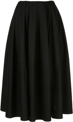 KHAITE Meryl full skirt