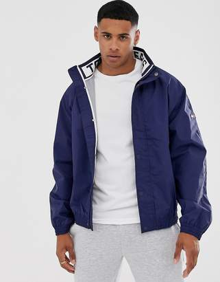Tommy Jeans mesh trainer jacket-Navy