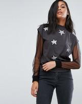 Cheap Monday Dig Fake Star T-Shirt