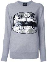 Markus Lupfer sequin appliqué pullover
