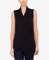 Catherine Malandrino Asymmetrical Faux-Wrap Top