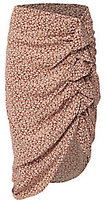 Veronica Beard Hazel Side Ruffle Skirt