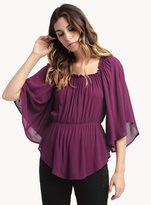 Ella Moss Katella Flutter Sleeve Top