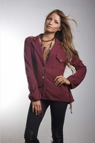 Nightcap Clothing Army Top in Plum