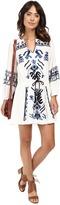 Free People Anouk Embroidered Mini Dress