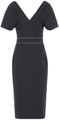 Roksanda Tiana crepe midi dress