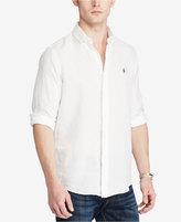 Polo Ralph Lauren Men's Linen Ocean-Wash Sport Shirt