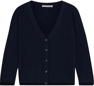 Autumn Cashmere Jacquard-knit Cardigan
