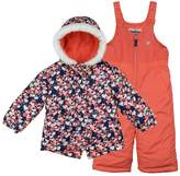 Osh Kosh Toddler Girl Heavyweight Jacket & Bib Snow Pants Set