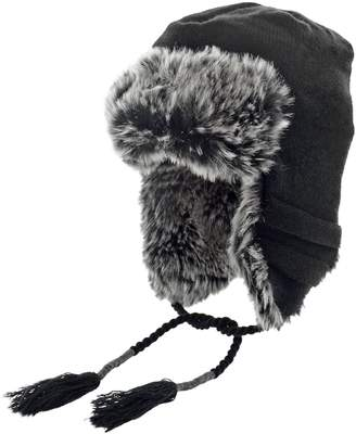 Dockers Faux Fur-Lined Peruvian Hat
