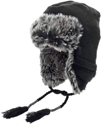 Dockers Faux Fur-Lined Peruvian Hat