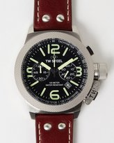 TW Steel Canteen Leather Chronograph 50mm