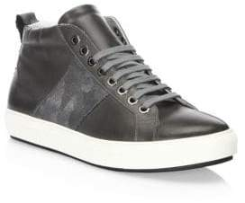Madison Supply Camouflage Web High-Top Sneakers