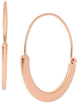 Kenneth Cole New York Sculptural Wire Hoop Earrings