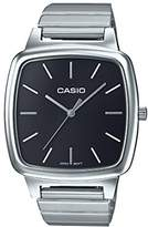 Casio Unisex Collection Analogue Quartz Watch with Stainless Steel Bracelet LTP-E117D-7AEF
