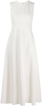 Giambattista Valli Kleid darted flared dress