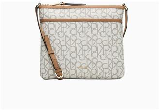 Calvin Klein Lily Zip Top Crossbody Bag