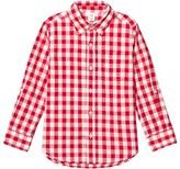 Gap Red Gingham Check Shirt