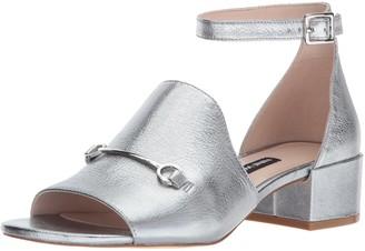 Nine West Women's XQUILZA Metallic Sandal