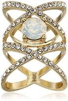 Jules Smith Designs Double X Gem Ring, Size 6