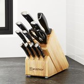 Crate & Barrel Wüsthof ® Classic Ikon 12-Piece Knife Block Set
