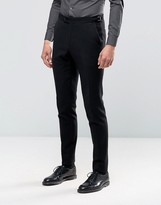 Hart Hollywood By Nick Hart Skinny Smart Trousers In Waffle